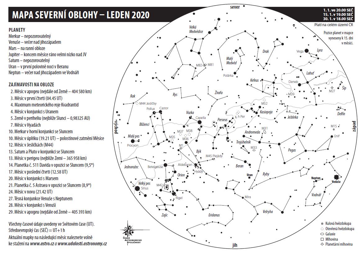 Mapka na leden 2020, Aleš Majer