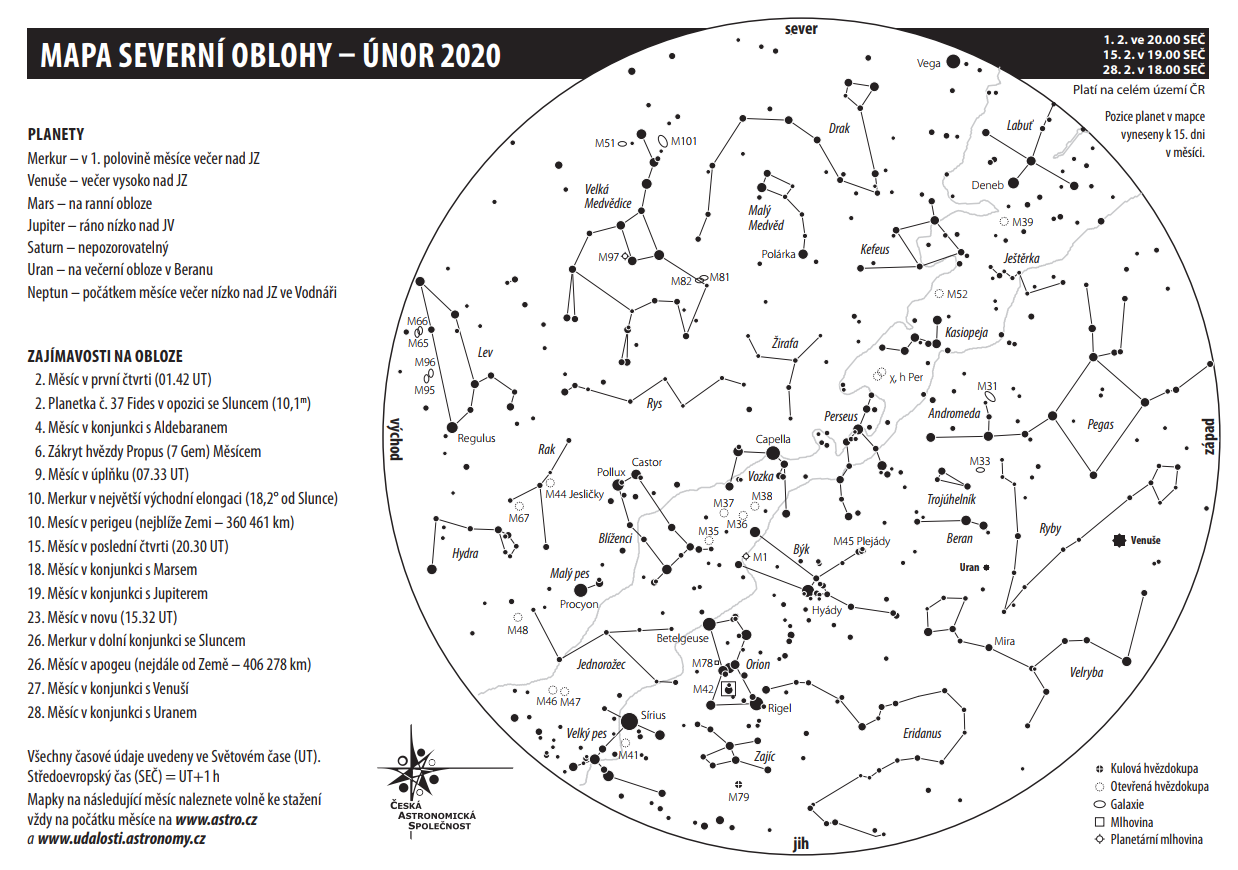 mapka únor 2020