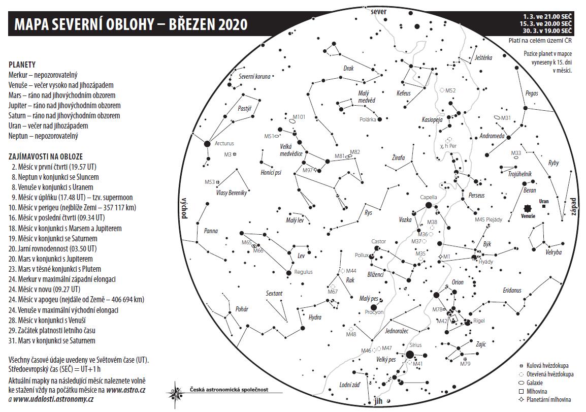 obloha březen 2020