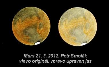 Mars, kreslil Petr Smolák