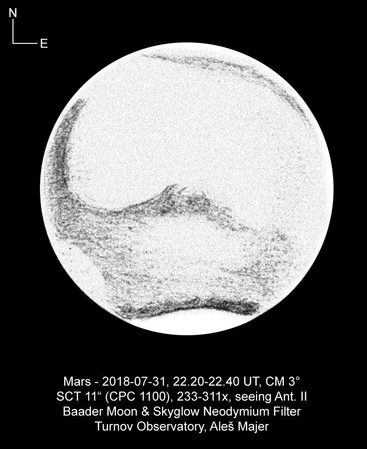 Mars 31.7.2018 Aleš Majer