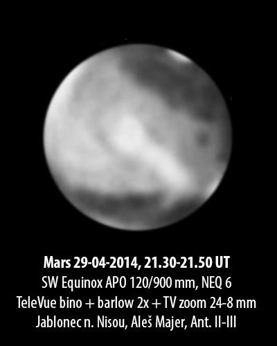 Mars 29.4.2014, Aleš Majer