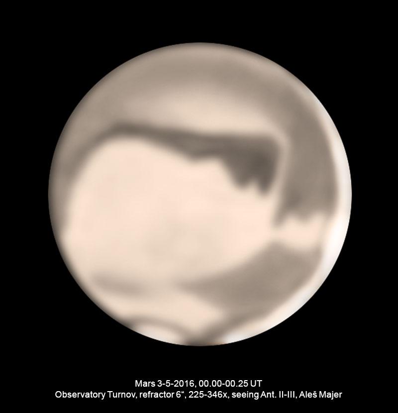 Mars 3.5.2016 Aleš Majer