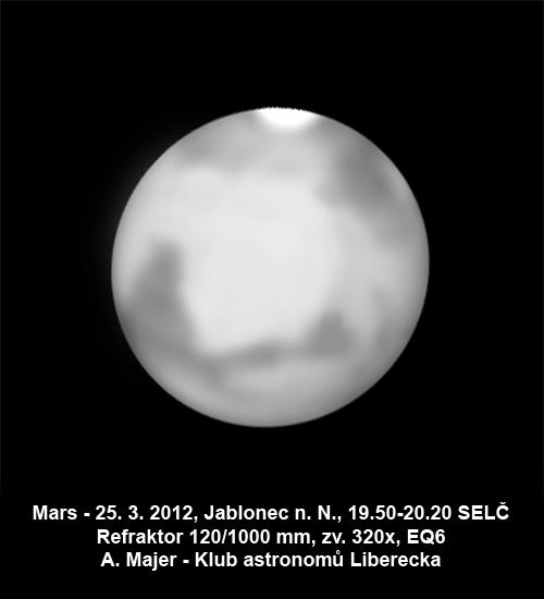 Mars - kresba Aleše Majera