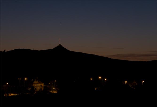 Merkur nad Ještědem, foto: Martin Gembec