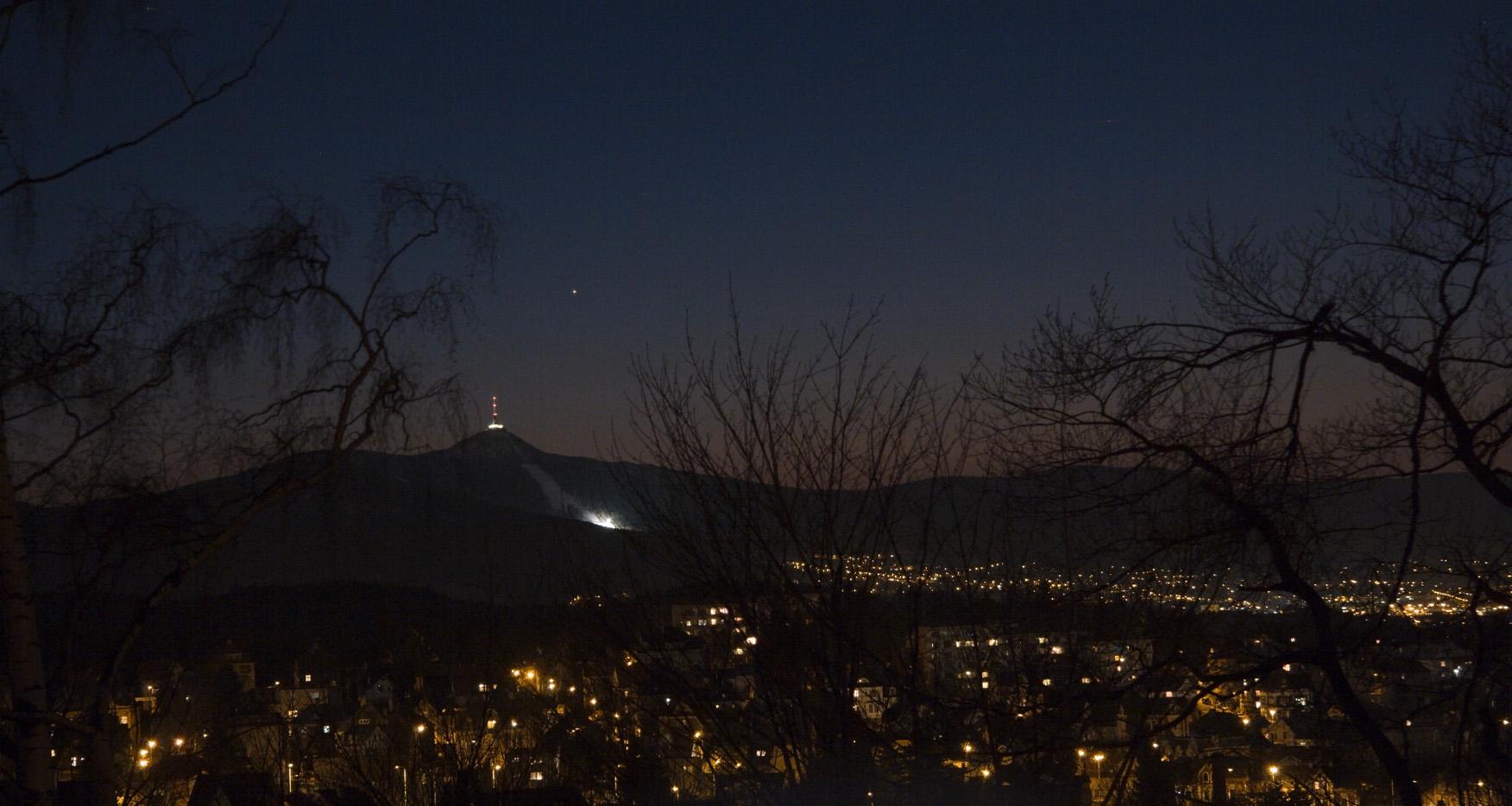 Merkur nad Ještědem