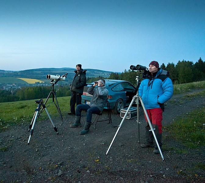 Pozorujeme Merkur. Aleš Majer, 5. 5. 2014