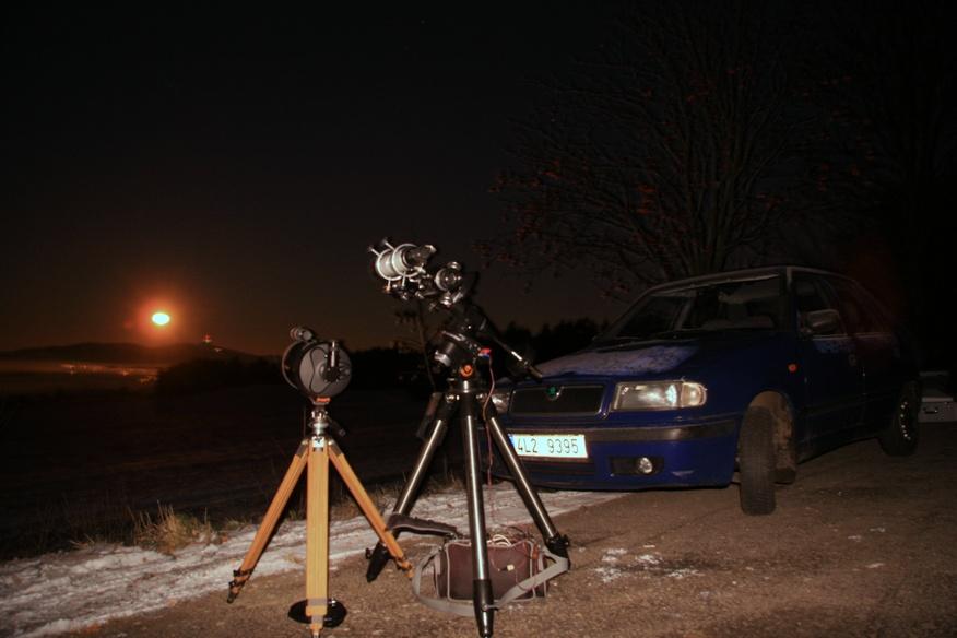 pozorování ISS