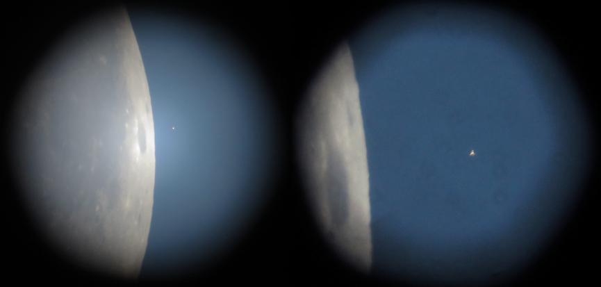 Měsíc a Aldebaran 5. 9. 2015