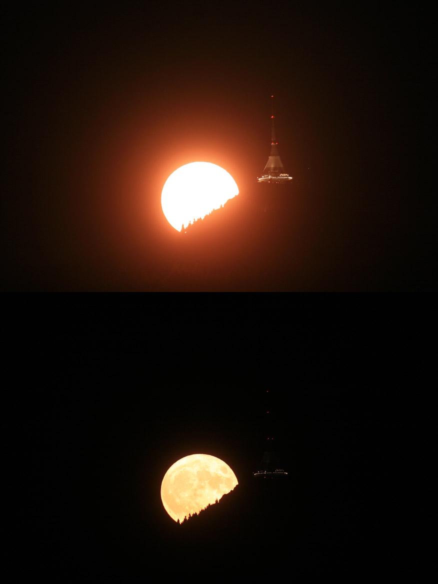 Měsíc Ještěd orig