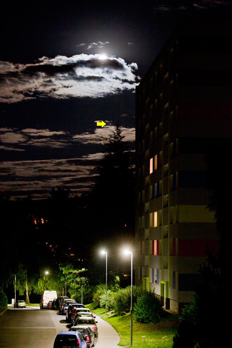 Měsíc a Mars 30. 6. 2018, Aleš Majer