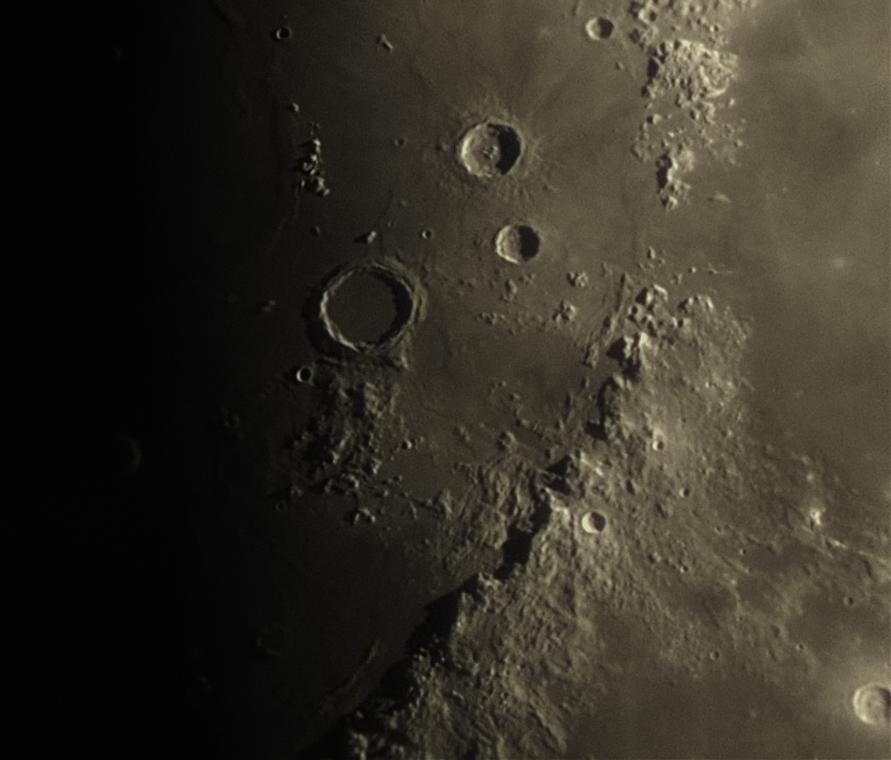 Detail Měsíce, foto: Pavel Dostál