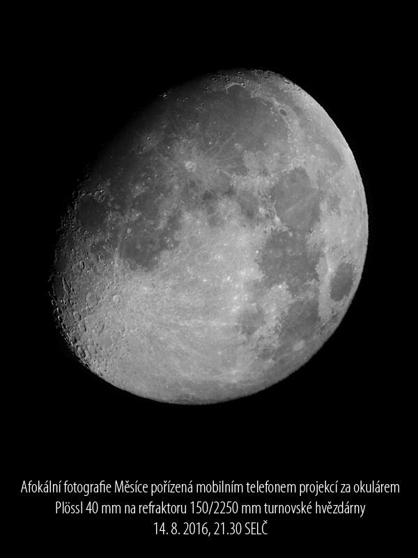 Měsíc foto Aleš Majer