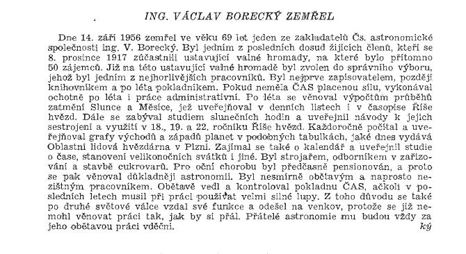 nekrolog Borecký