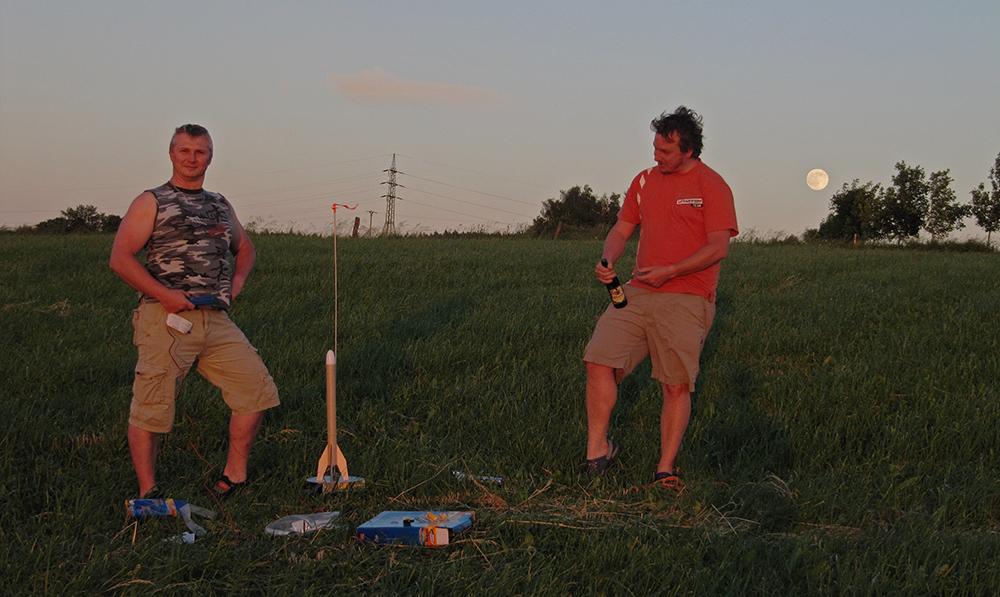 příprava rakety 2