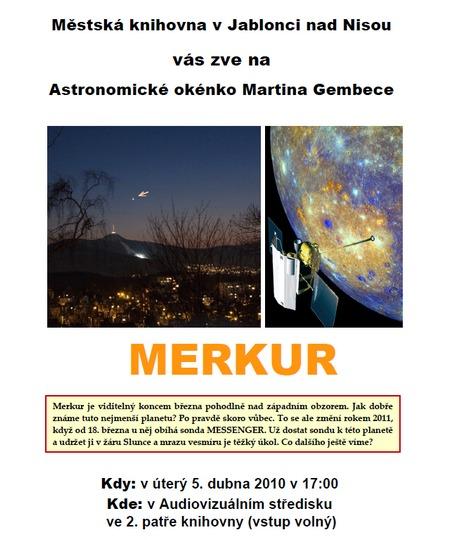 plakát duben 2011 - Merkur