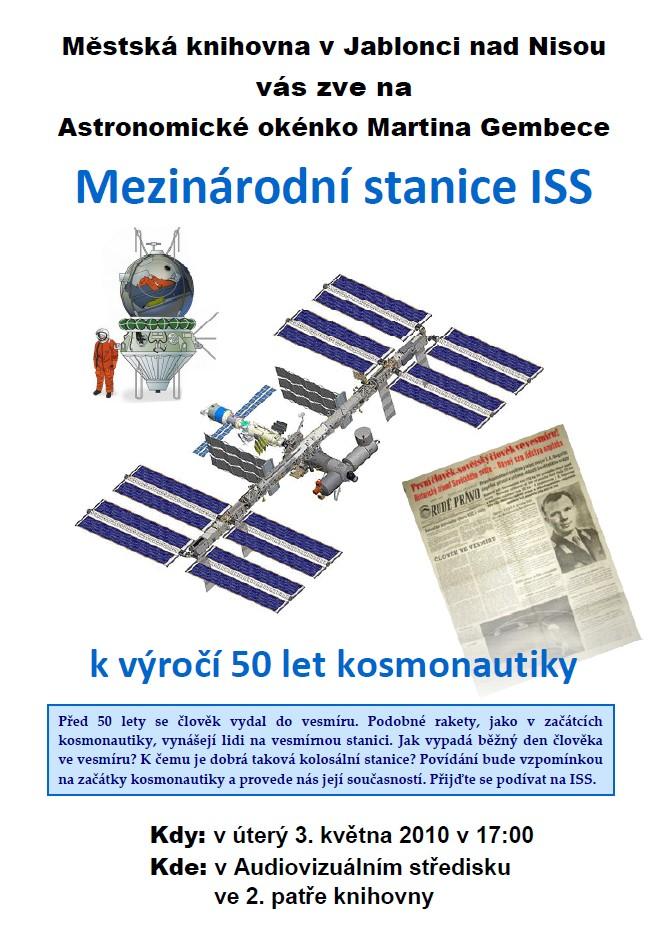 plakát na květen 2011 (ISS)