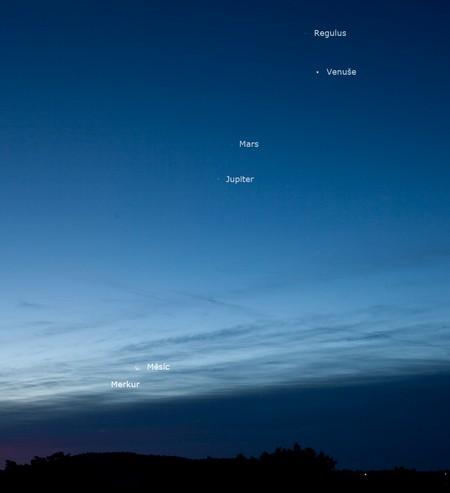 Planety ráno 11. října 2015, Aleš Majer
