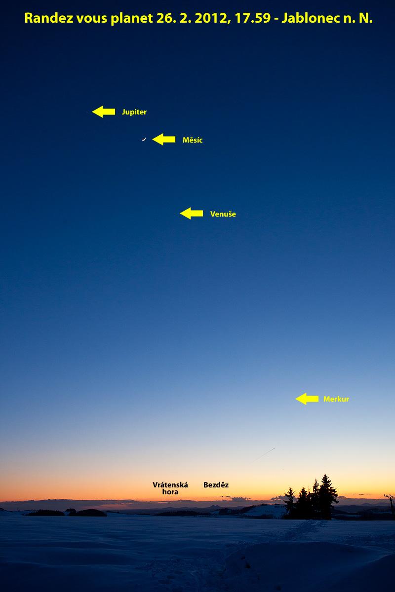 planety a Měsíc 26.2., foto:Aleš Majer