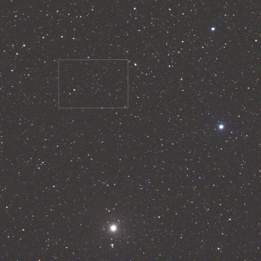 Pluto - ořez ze snímku