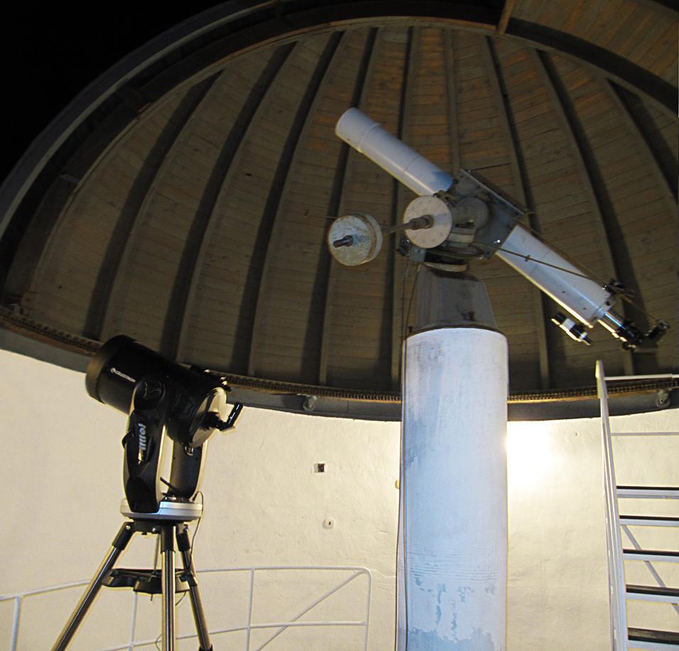 Pozorování Jupiteru v Turnově 27.12.2013