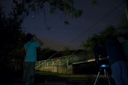pozorujeme kometu 27.7. ráno