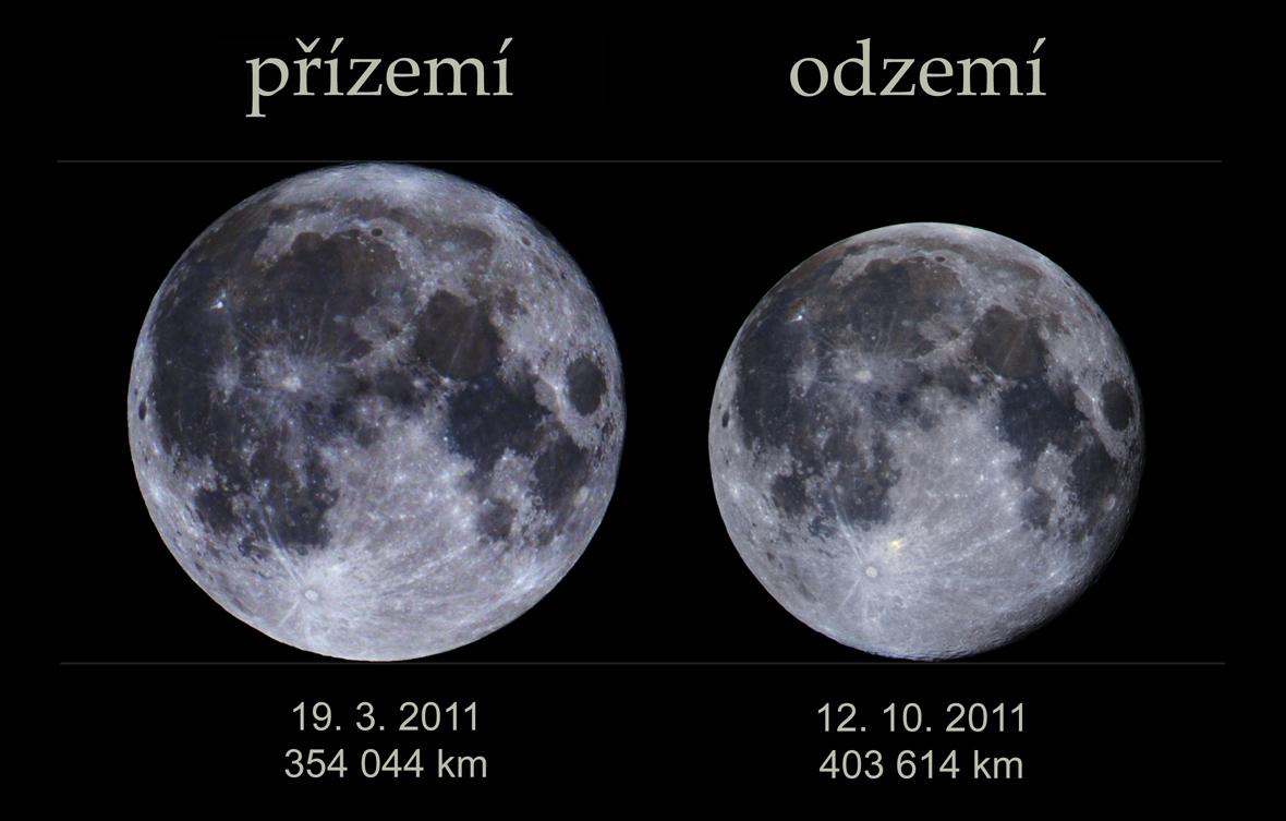 Měsíc v přízemí a odzemí - stejný vzhled - zvýrazněno a mírně dobarveno.