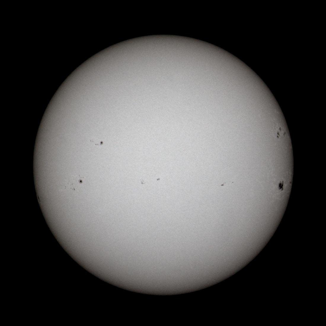 Slunce 8.2.2014 Martin Gembec