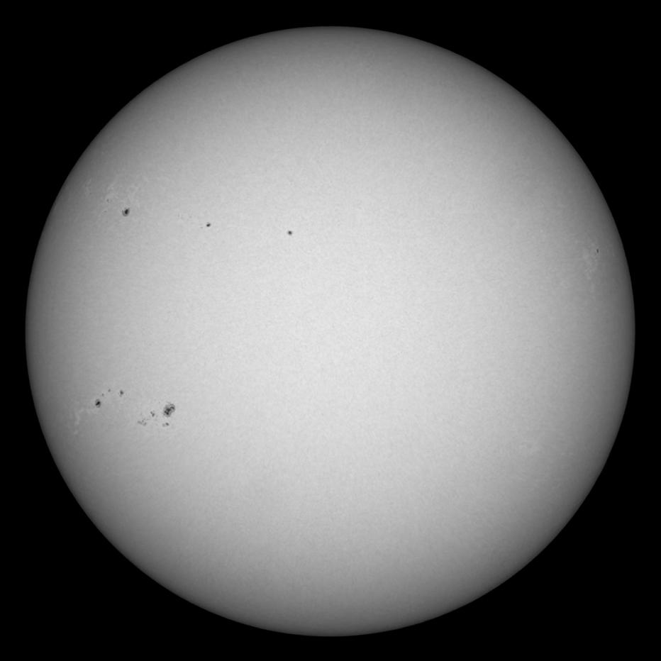 Slunce 31. 5. 2011