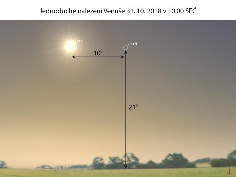 Pozorování Venuše 2018