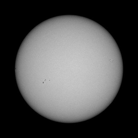 Slunce 20. 4. 2020