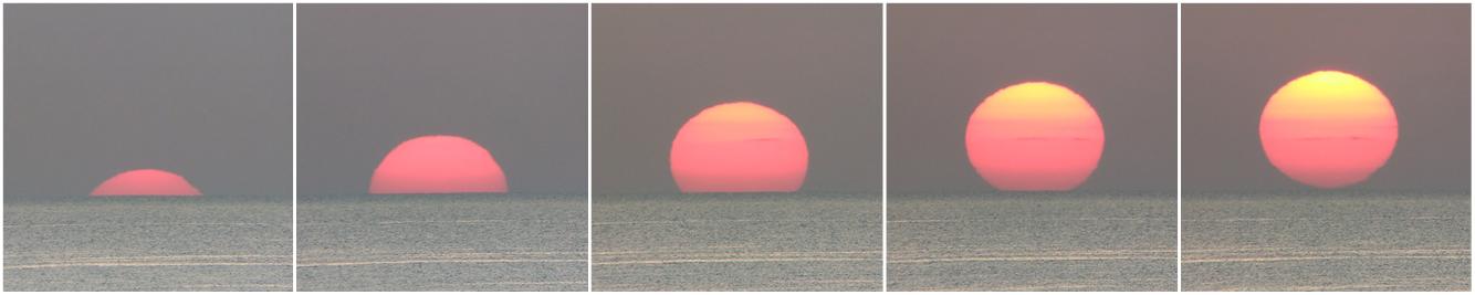 východ Slunce v Egyptě, Aleš