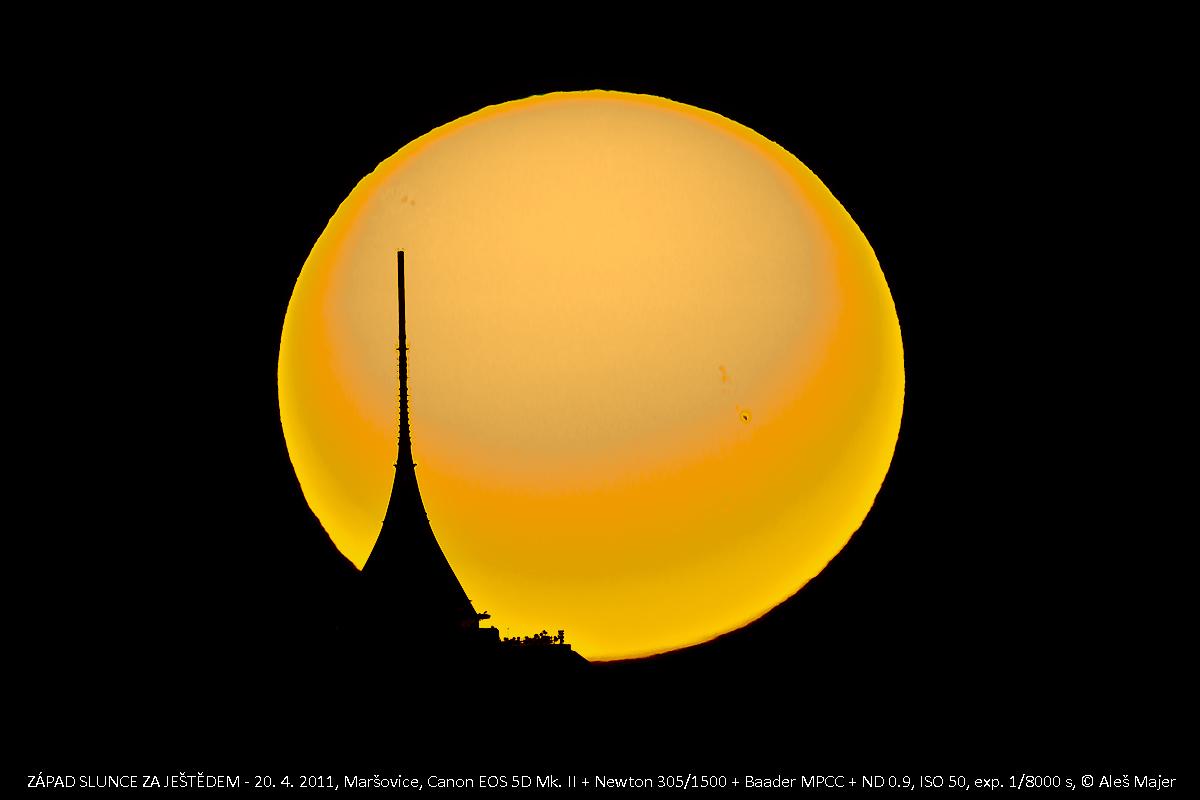 Slunce za Ještědem 20.4. Aleš Majer
