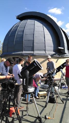 Pozorování přechodu Merkuru v Turnově