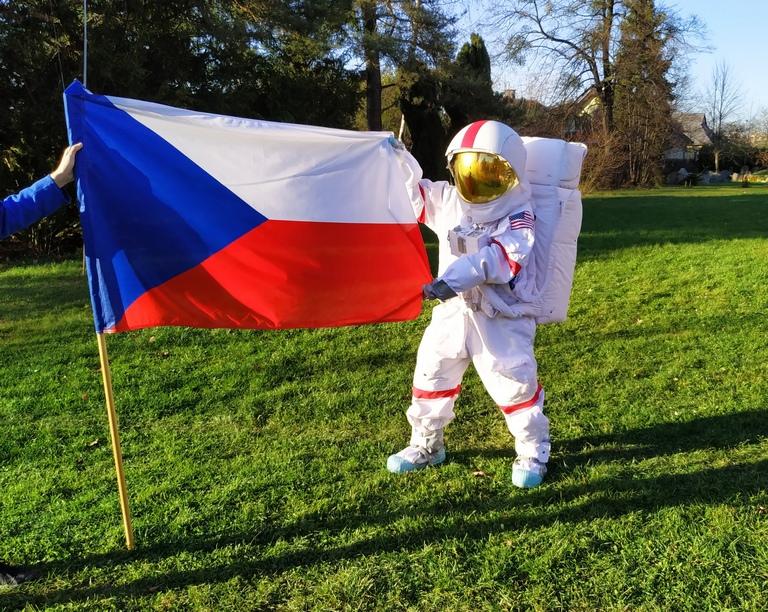 Astronaut ve Valašském Meziříčí