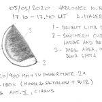 Venuše 5. 3. 2020, kresba Aleš Majer