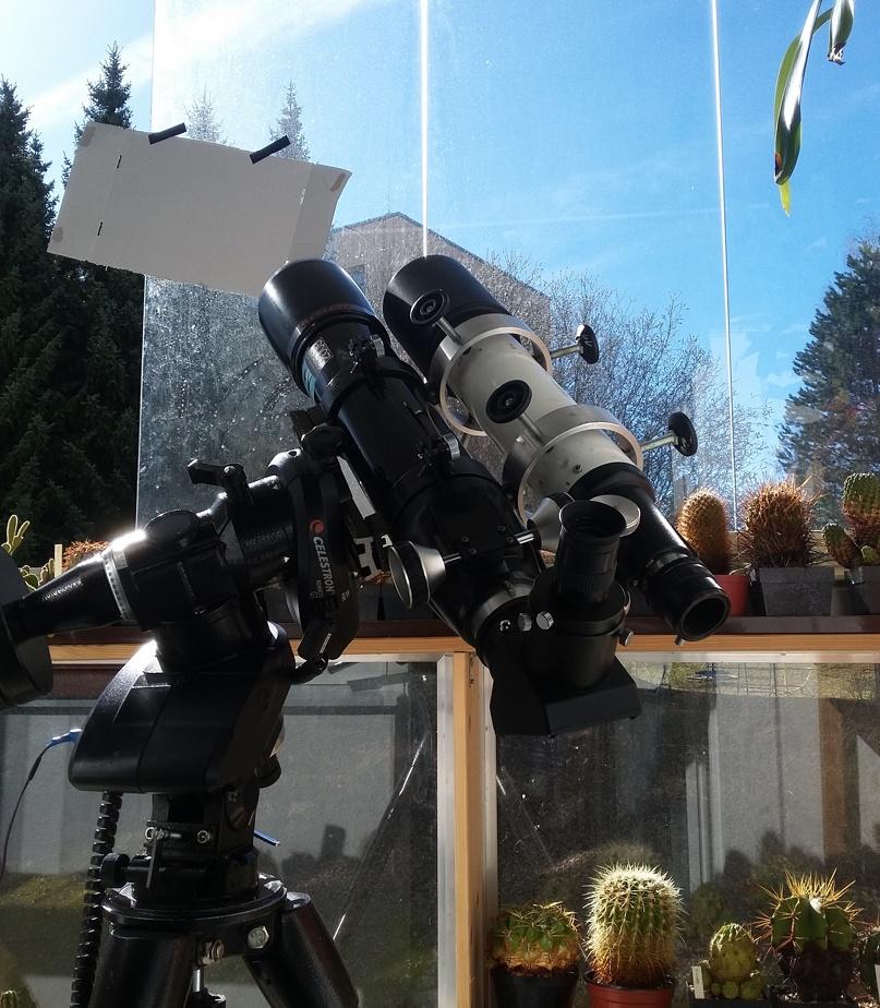 způsob pozorování Venuše ve dne