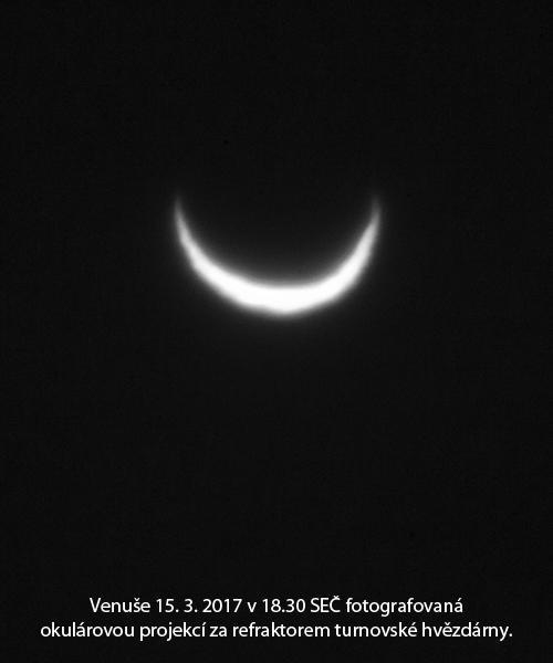 Venuše z hvězdárny v Turnově
