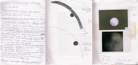 Záznamy přechodu Venuše 8.6.2004 z Tomkova deníku