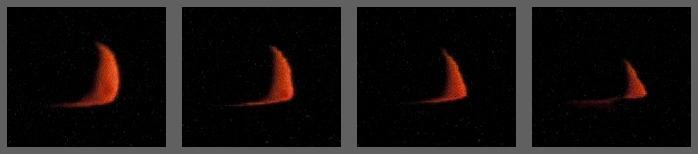 zapadající Měsíc 19.10.2012